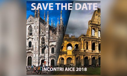 Riunioni AICE 2018 – SAVE THE DATE