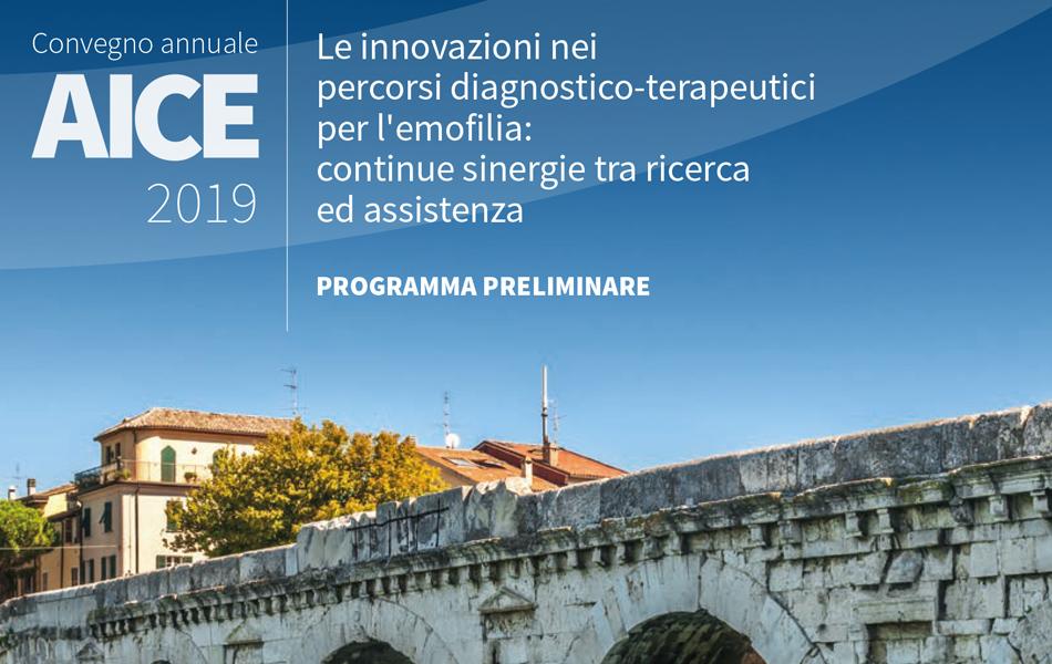 Convegno Annuale AICE 2019