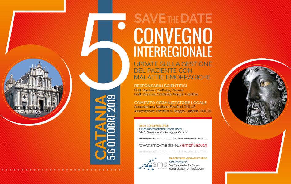 5° Convegno Interregionale - Update sulla gestione del paziente con malattie emorragiche