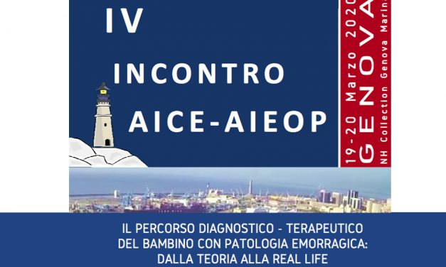 IV Incontro AICE – AIEOP