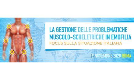 La gestione delle problematiche muscolo-scheletriche in emofilia – focus sulla situazione italiana