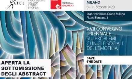 Attivazione sottomissione abstract Convegno Triennale AICE