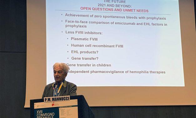 La terapia dell'emofilia nel terzo millennio: la lettura magistrale al XVII Convegno Triennale del Presidente Emerito AICE Pier Mannuccio Mannucci