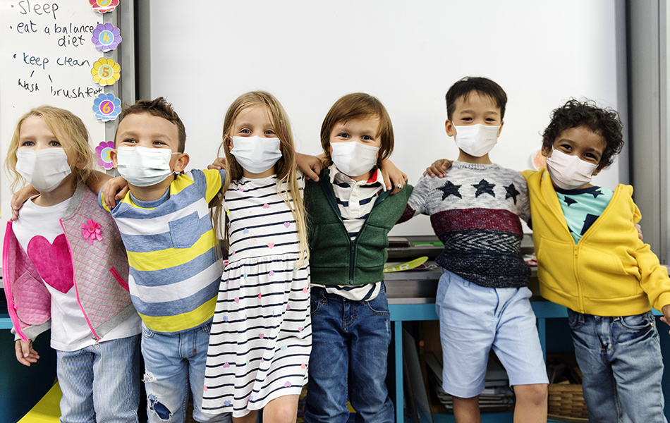 I bambini nel misterioso mondo dei Coronavirus
