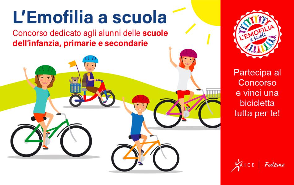 L'Emofilia a Scuola: si può partecipare fino al 15 Settembre